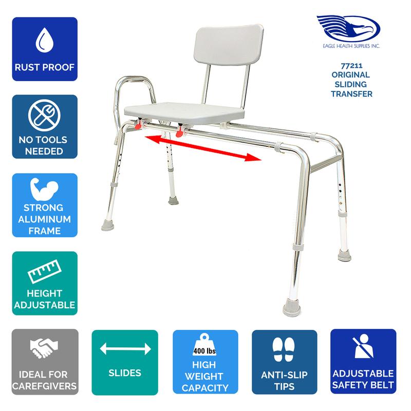 Sliding Transfer Bench - NuVision Rehab Group