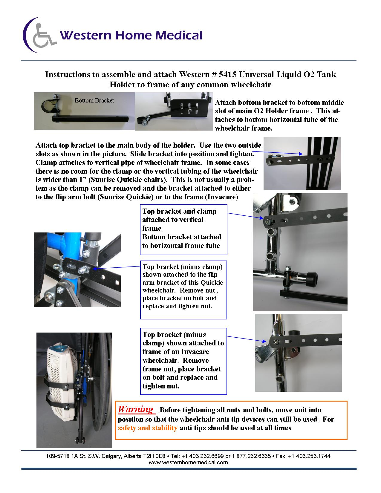 Liquid O2 Instructions